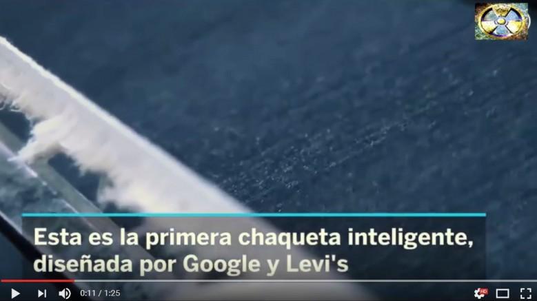 chaqueta inteligente de levis y google